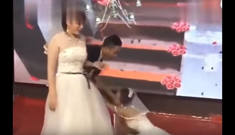 mujer interrumpe la boda se su ex novio
