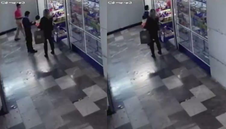 mujer roba a bebé hospital general