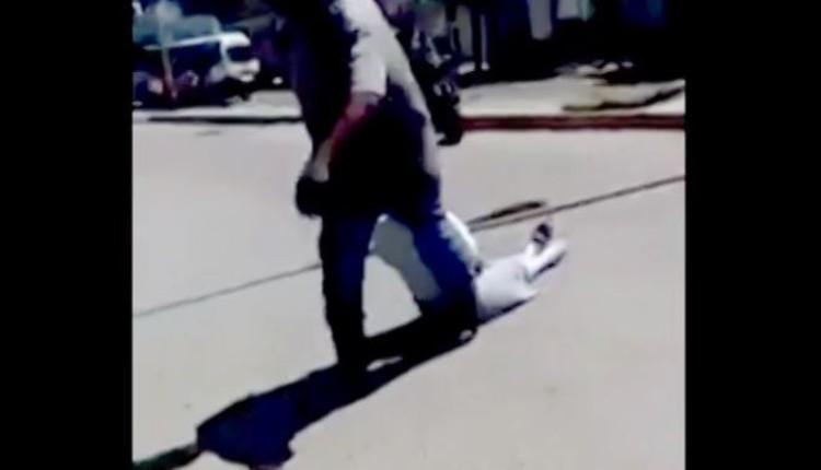 padre golpea a su hija por irse de pinta tabasco