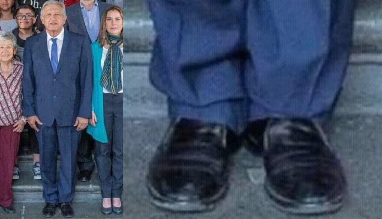 zapatos sucios de AMLO
