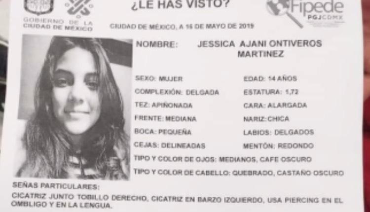 Jessica Ajani desparecida metro ermita