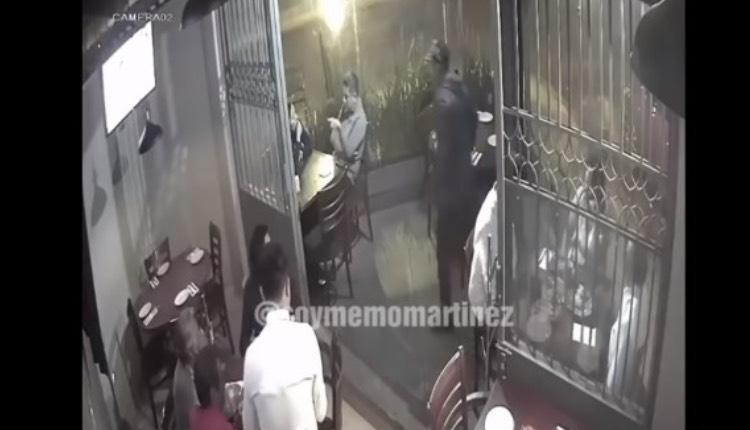 asalto restaurante azcapotzalco