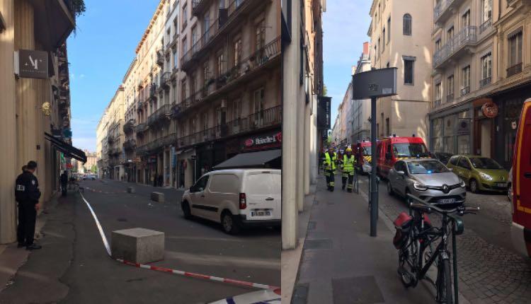 bomba en lyon francia ataque