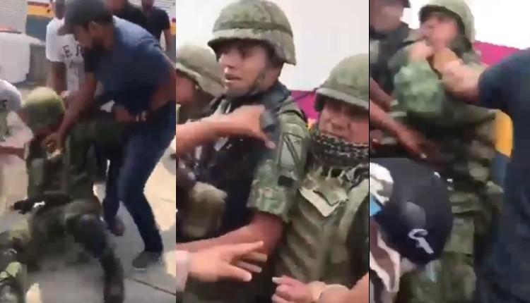habitantes de michoacán militares ejercito