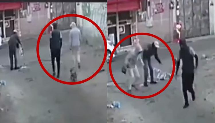 ladrones roban a abuelito en Tlalpan