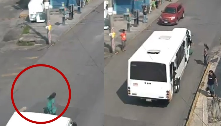 mujer atropellada en Naucalpan