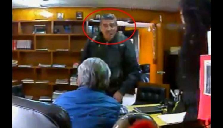 video hombre ataca despacho en estado de mexico