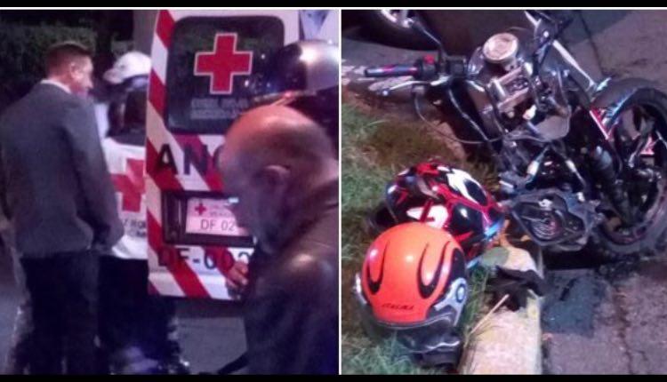 Daniel Bisogno atropella a hombre motociclista