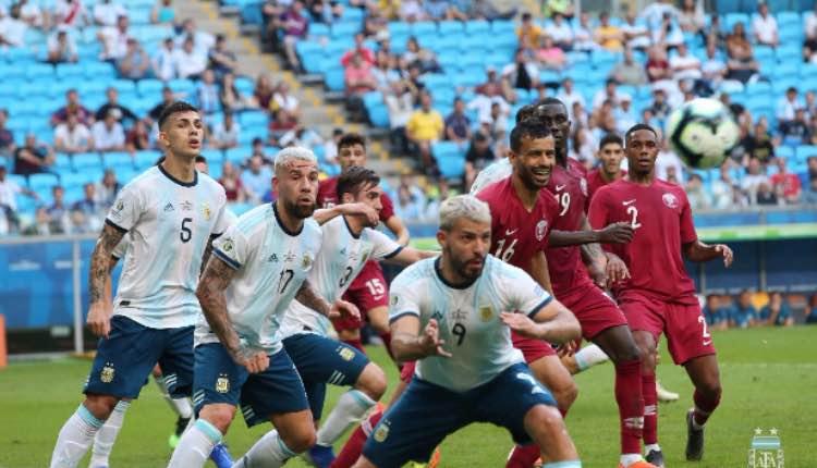 Venezuela vs Argentina, Copa América