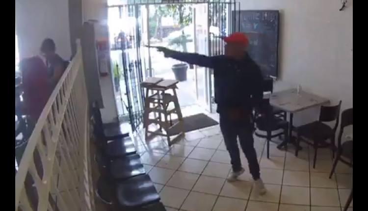 asalto restaurante aqui entre nos claveria azcapotzalco
