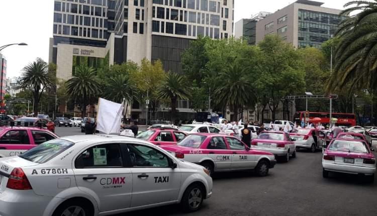 bloqueos de taxistas