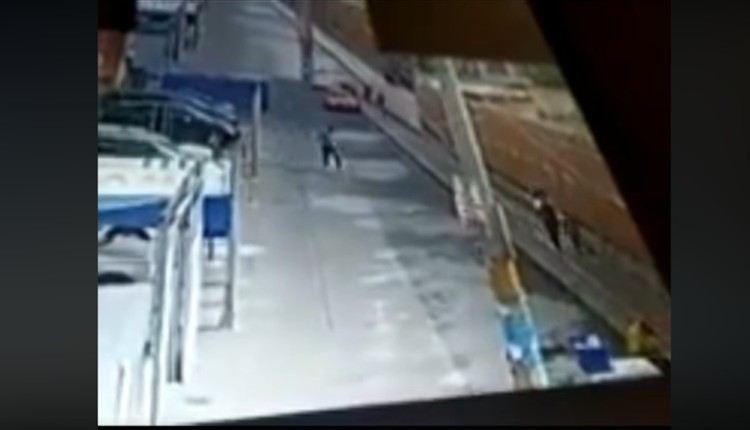 secuestro niña puebla video