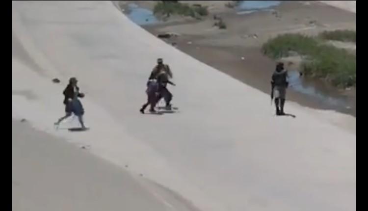 soldados guardia nacional detienen a migrantes foto