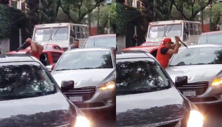 taxista parabrisas acopa