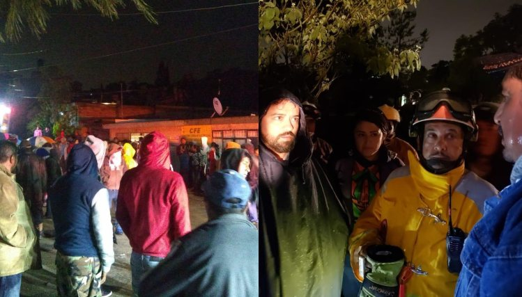 Deslave de cerro por lluvia deja siete fallecidos en Puebla. Noticias en tiempo real