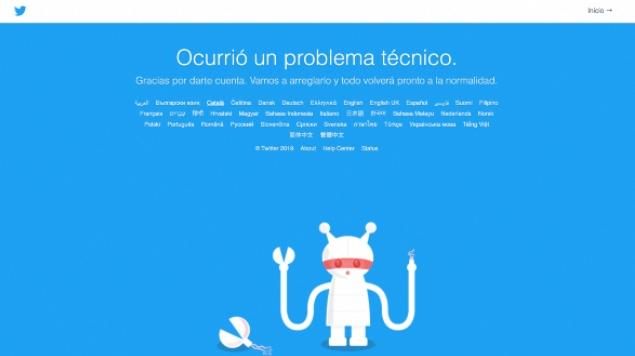 Ahora es Twitter, reportan fallas en todo el mundo. Noticias en tiempo real