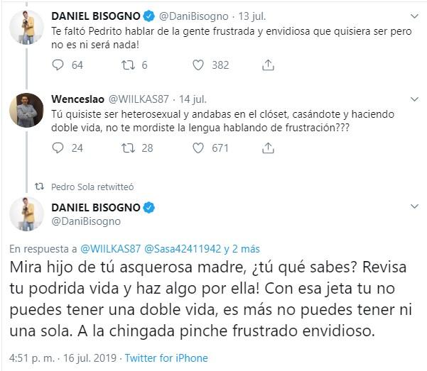 Daniel bisogno respuesta