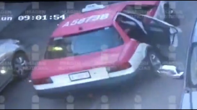 monserrat taxi video