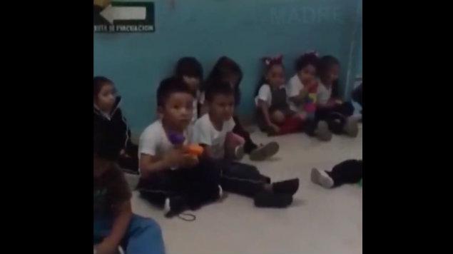 niños asustados audio la llorona guardería