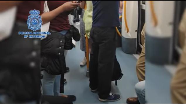 acosador metro madrid