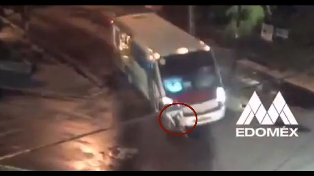 chofer atropella ciclista