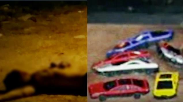 cuerpos carritos juguete