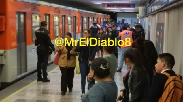 jefe de estación metro san cosme