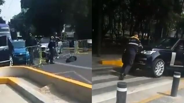 policia noqueado
