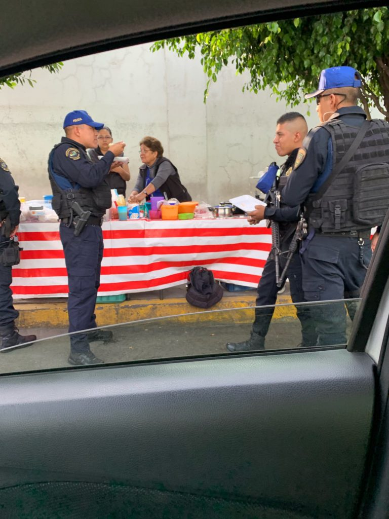 policias bajar peso