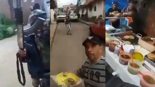 video tacos sicarios