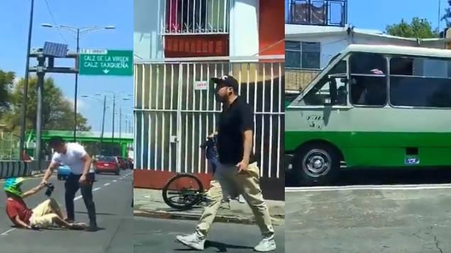 choferes ciclista coapa
