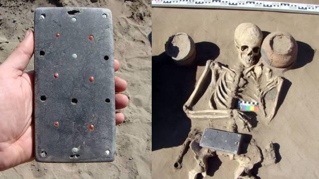iphone arqueologos