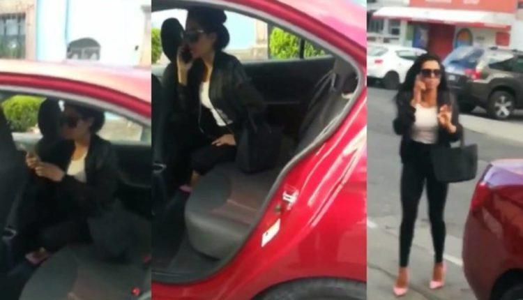 chofer uber mujer