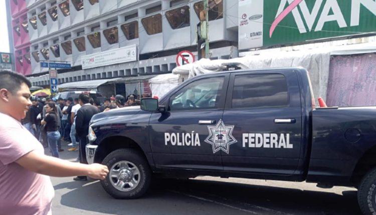 comerciantes ambulantes policias