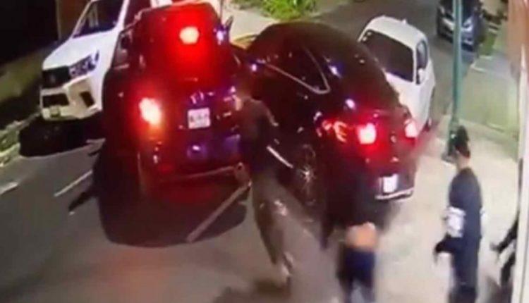 conductor atropella delincuentes