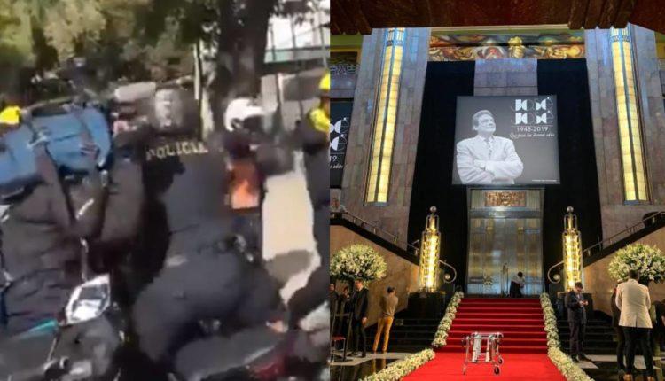homenaje jose jose policias