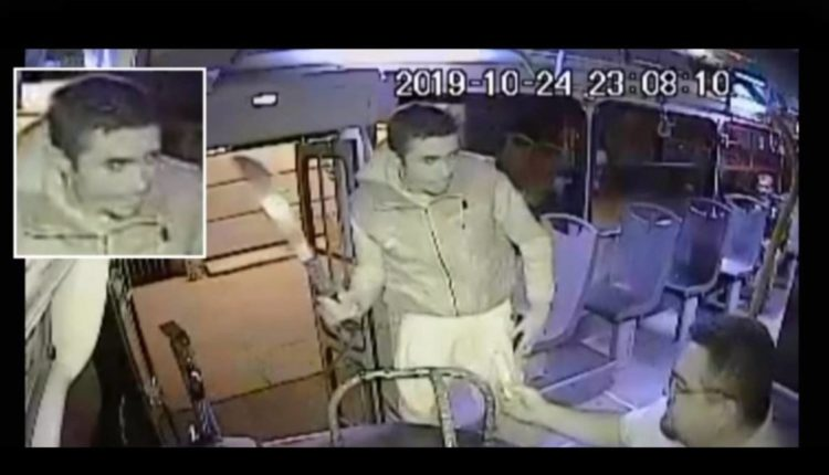 ladron machete chofer