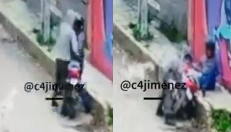 ladron motociclista xochimilco