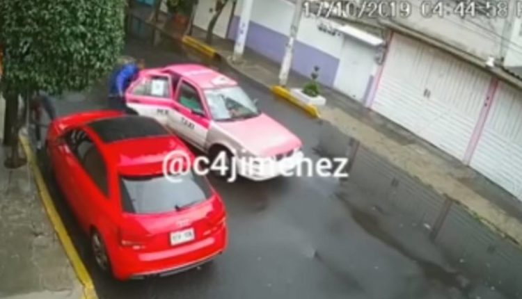 ladrones autopartes taxi