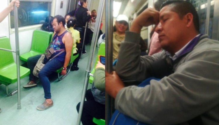 multa metro quedarse domido