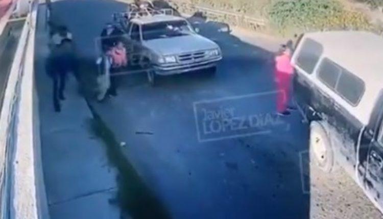 secuestro camionetas tecamachalco puebla