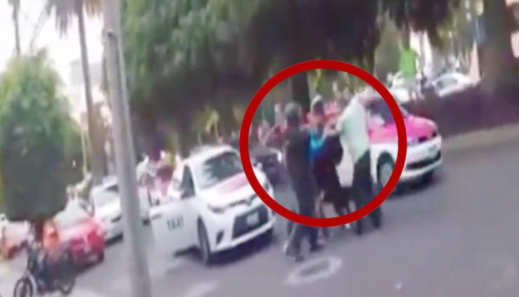 taxistas atacan empleados de uber