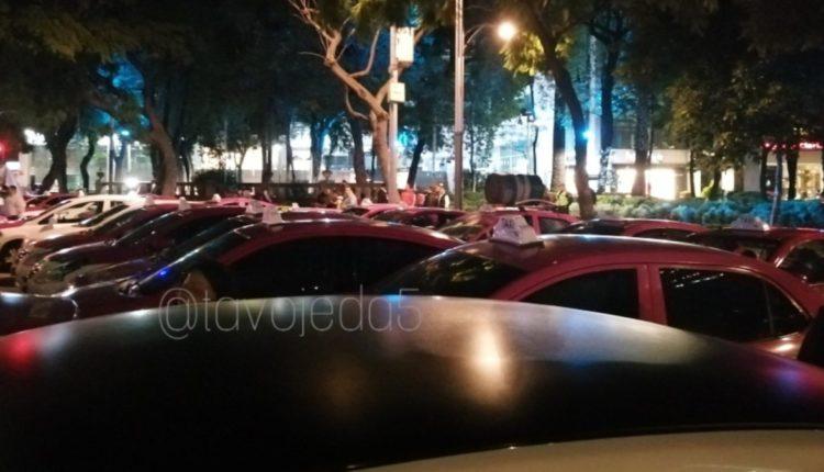 taxistas manifestacion agresiones