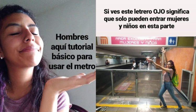 tutorial hombres usar metro