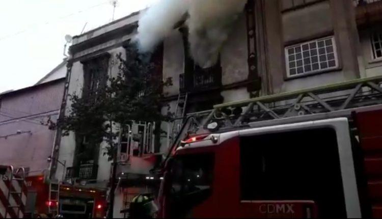 Incendio bodega centro histórico