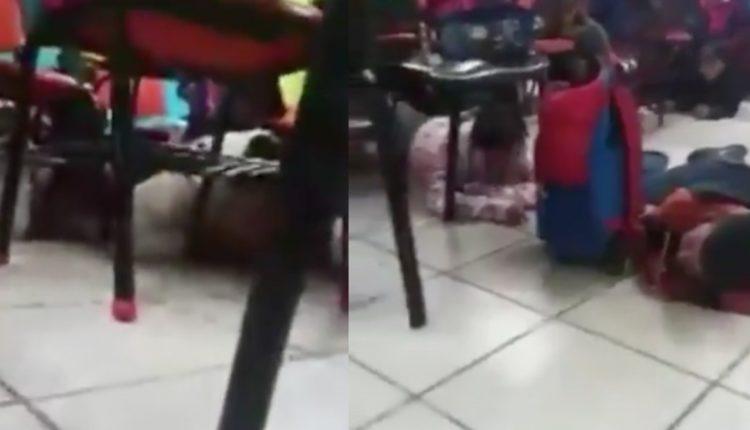 balacera niños