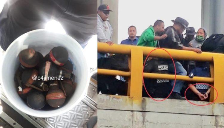 enfrentamiento policías aicm