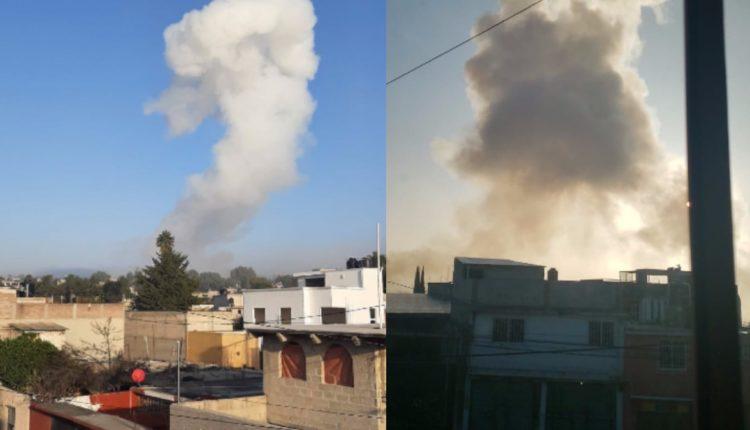 explosion Tultepec