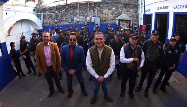 iron man policias Guanajuato