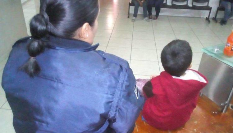 mujer niño 5 años
